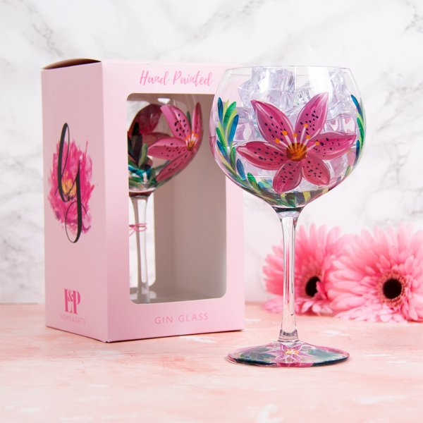 LILY GIN GLASS