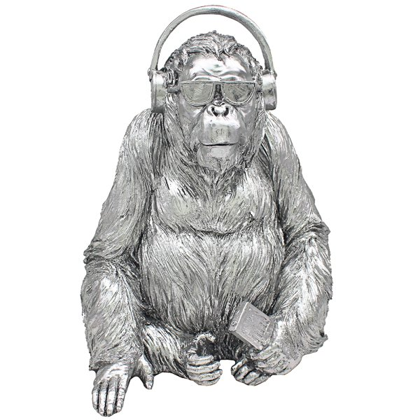SILVER ART GORILLA MUSIC