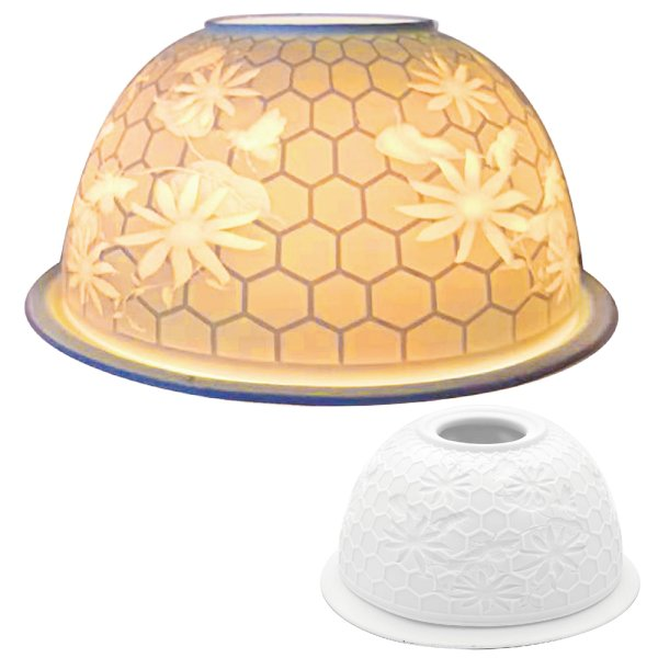 TEALIGHT HOLDER HONEYCOMB