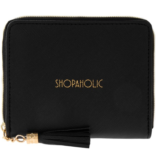 WALLET SHOPAHOLIC BLACK