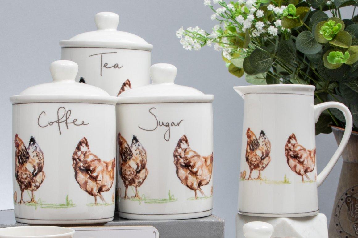 Design 8 Jennifer Rose Chickens