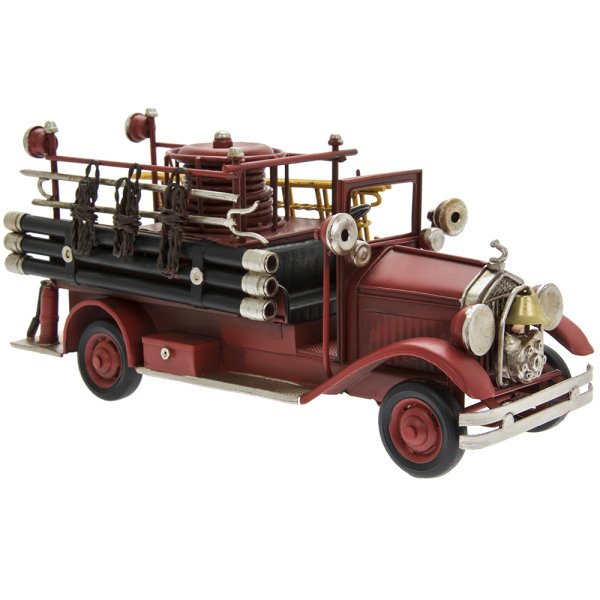 VINTAGE RED FIRE ENGINE