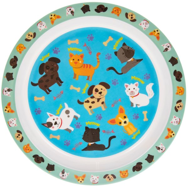 CATS & DOGS PLATE