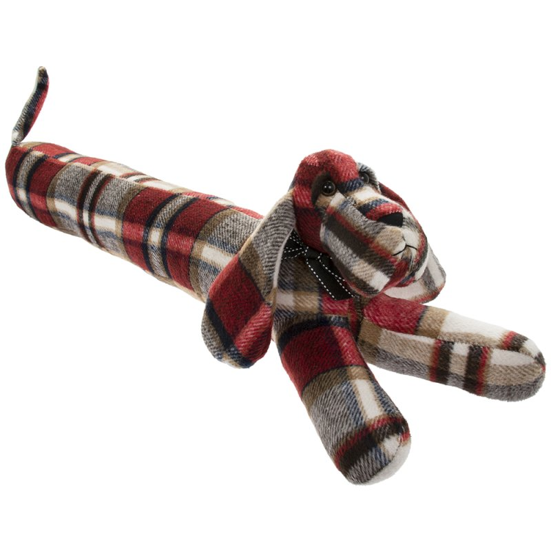 RED CHECK DACHSHUND DR/EXCL