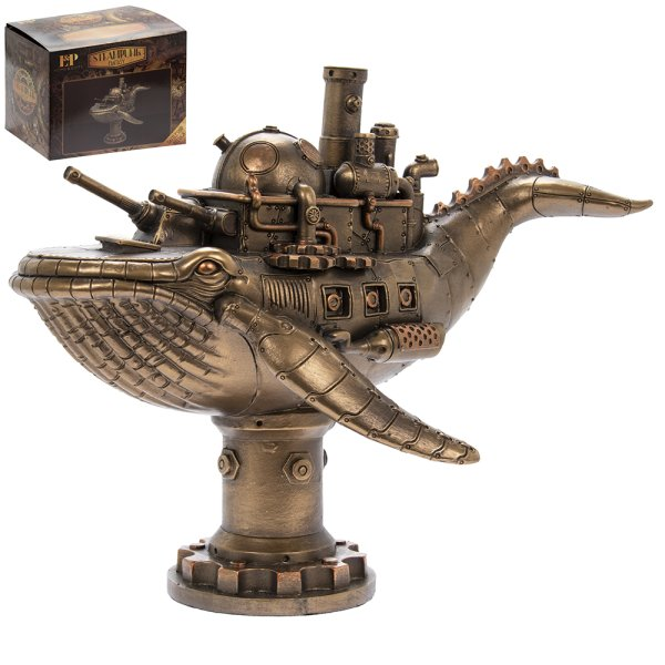 STEAM PUNK WHALE