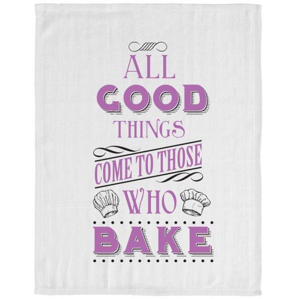 THOSE WHO BAKE TEA TOWEL