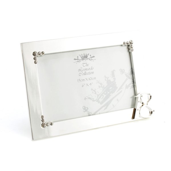 SILVER PLATED FRAME 18TH