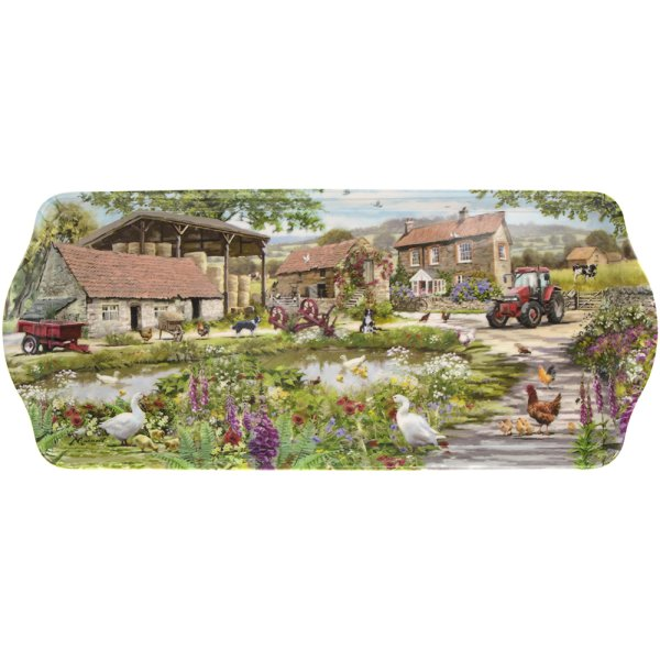 FARMYARD MEDIUM TRAY