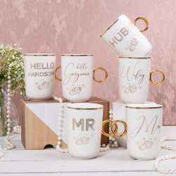 Mr & Mrs Wedding Mugs on Social Media