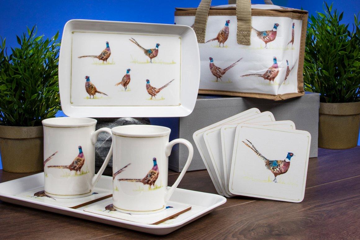 Design 7 Jennifer Rose Pheasants