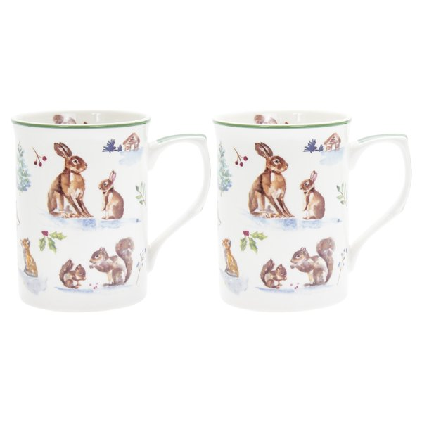 WINTER FOREST MUGS 2AS S2