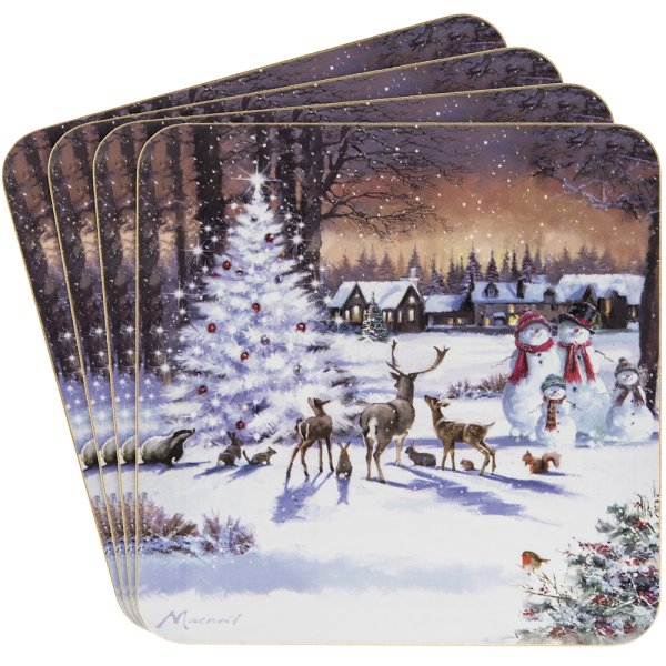 MAGIC CHRISTMAS COASTERS S4