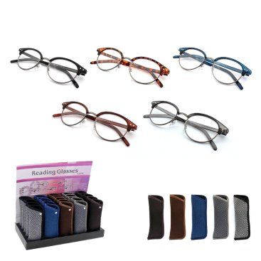 READING GLASSES & CASES
