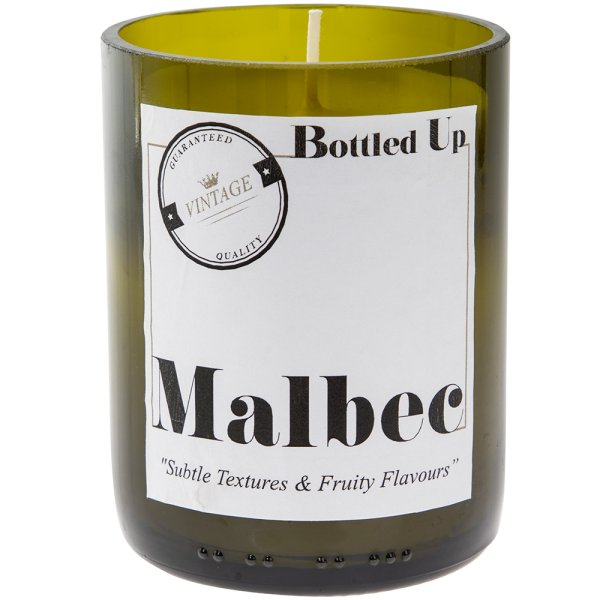 MALBEC BOTTLE CANDLE