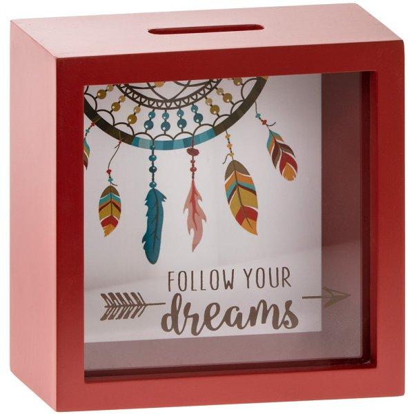 FOLLOW YOUR DREAMS MONEY BOX
