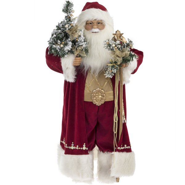 SANTA RED STANDING&MOVING 32""