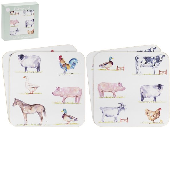COUNTRY LIFE FARM COASTERS S4