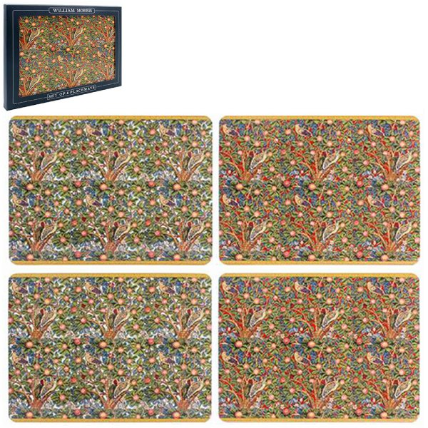WOODPECKER PLACEMATS SET OF 4