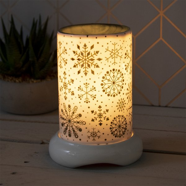 XMAS AROMA LAMP GOLD W/DIMMER
