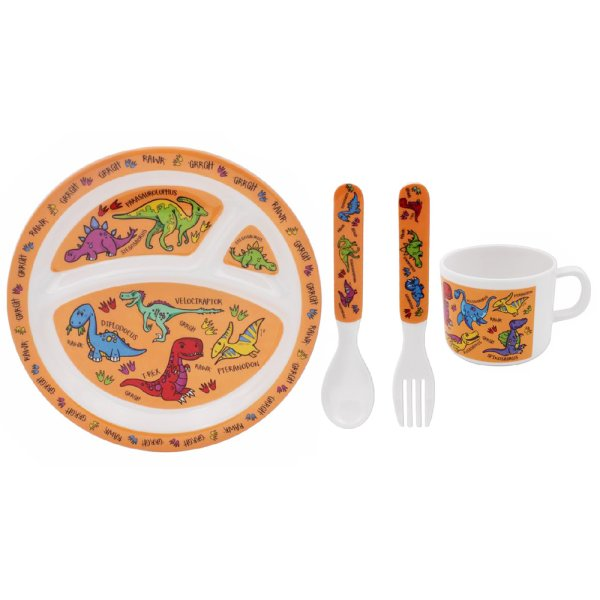 DINOSAURS FEEDING SET