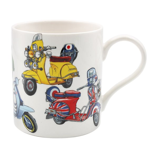 SCOOTER FINE CHINA MUG