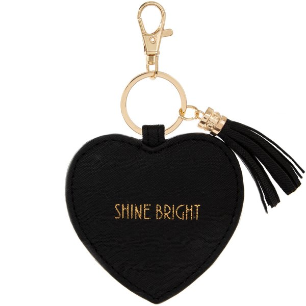 SHINE BRIGHTS KEYRING BLACK