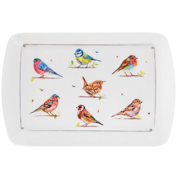 COUNTRY LIFE BIRDS TRAY SMALL