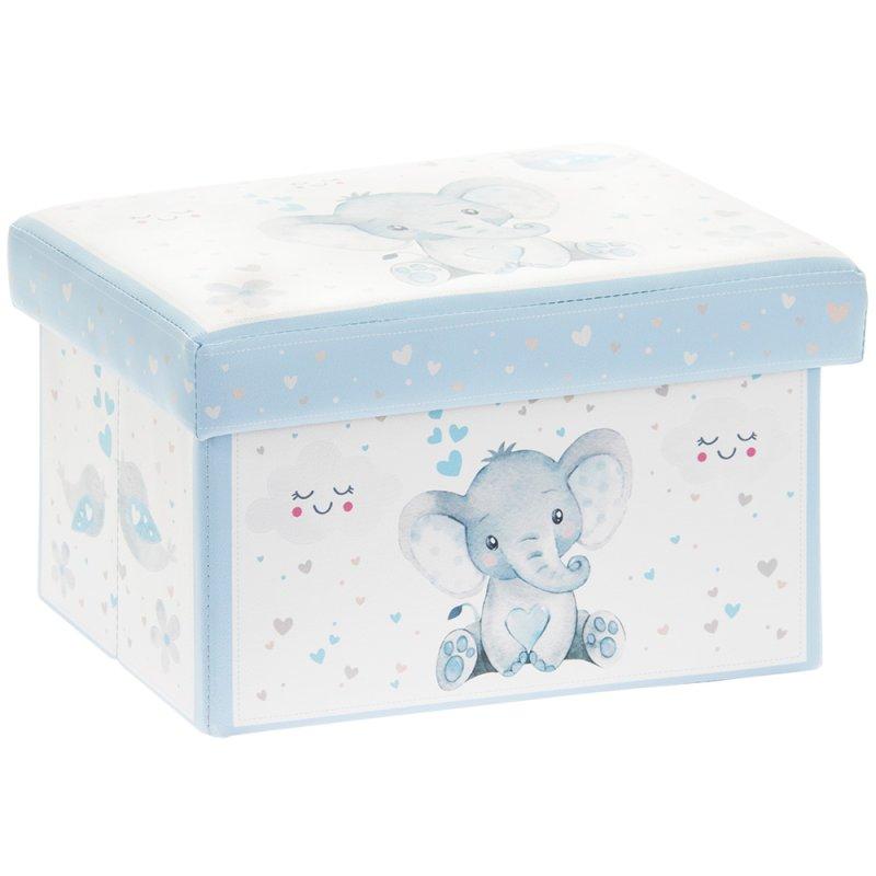 BIRD & ELLIE STORAGE BOX BLUE
