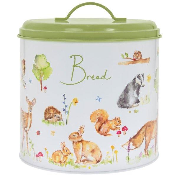 WOODLAND WILDLIFE BREAD BIN