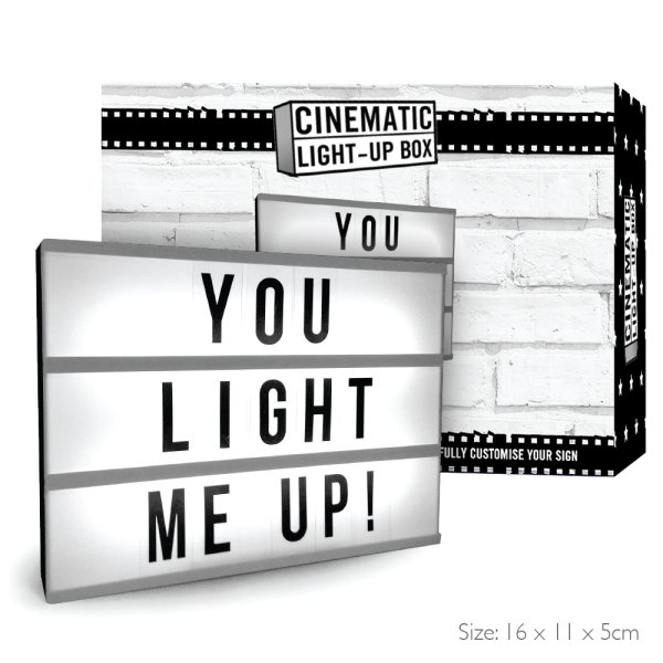 CINEMATIC LIGHT UP BOX MINI