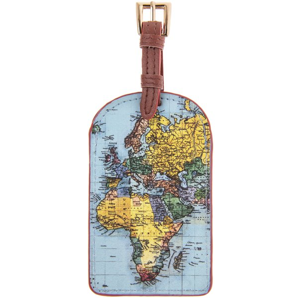 WORLD TRAVELLER LUGGAGE TAG
