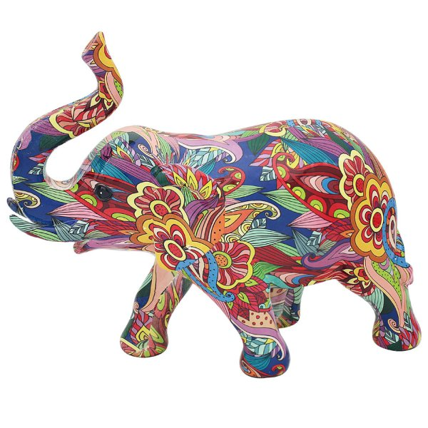 GROOVY ART ELEPHANT