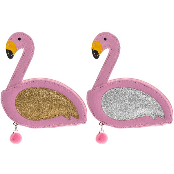 FLAMINGO MANICURE SET 2 ASST