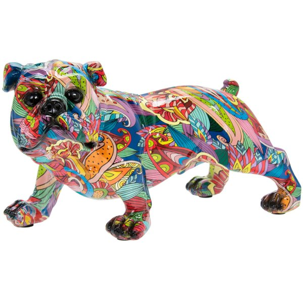 GROOVY ART BULLDOG SMALL