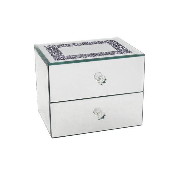 MULTI CRYSTAL JEWELLEY BOX