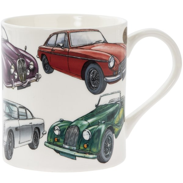 CLASSIC CAR FINE CHINA MUG
