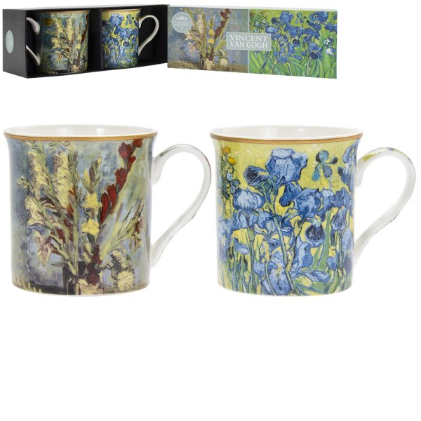 VAN GOGH MUGS SET OF 2