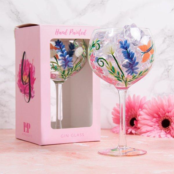 BOTANICALS&BUTTERFLIES GLASS