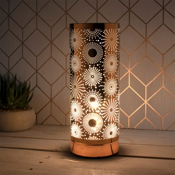 DESIRE SPARKLE LAMP ROSE GOLD