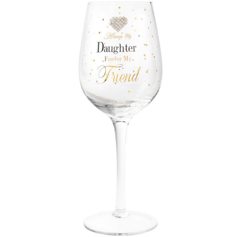 MADDOTS DAUGHTER WINE GLASS