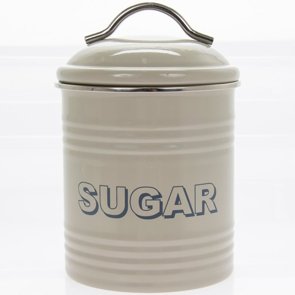 HSH SAGE SUGAR CANISTER
