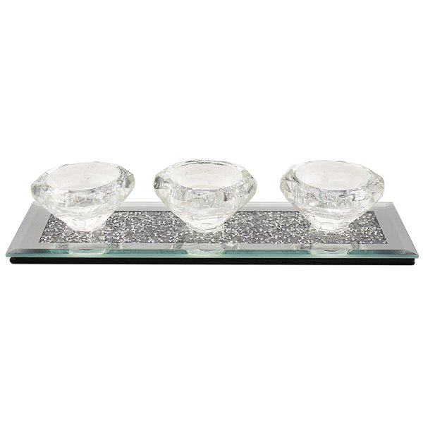 MULTI CRYSTAL TLIGHT HOLDER TR