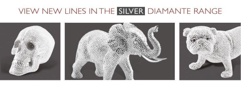 Silver Diamante