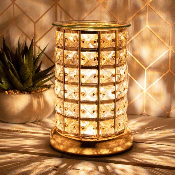 DESIRE AROMA LAMP GOLD