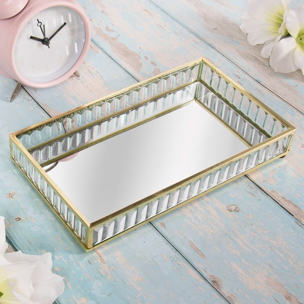 TRAY GOLD LARGE