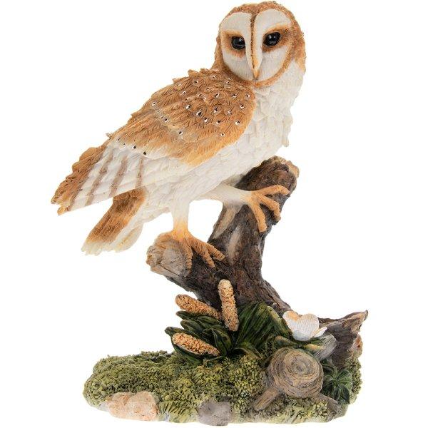 RESIN BARN OWL