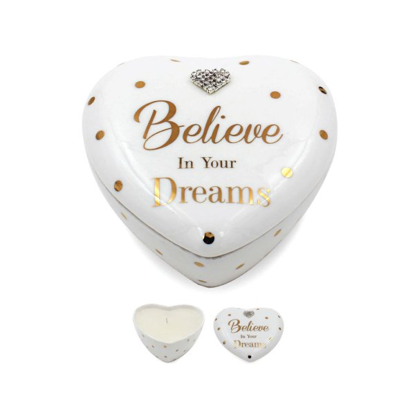 MAD DOTS DREAMS HEART CANDLE