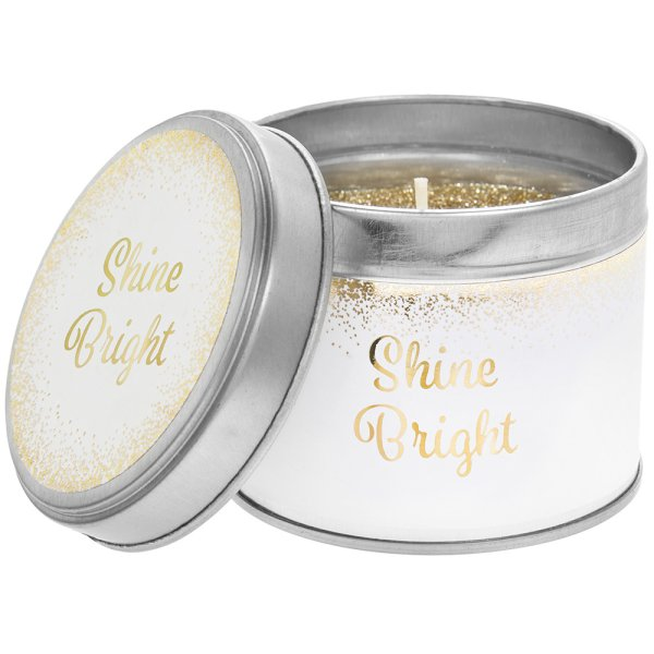 DESIRE SHINE BRIGHT CANDLE TIN