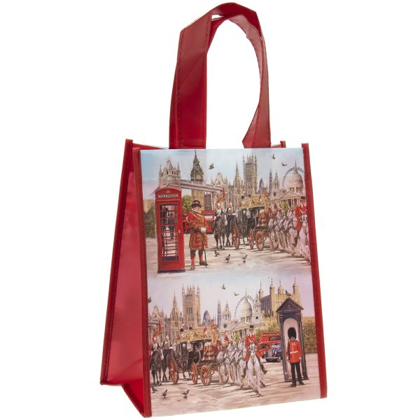 LONDON COLLAGE SHOPPER SML