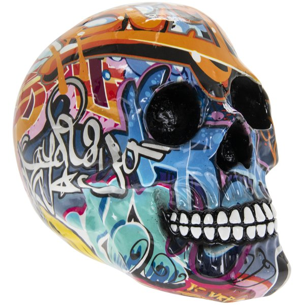 GRAFFITI ART SKULL  L